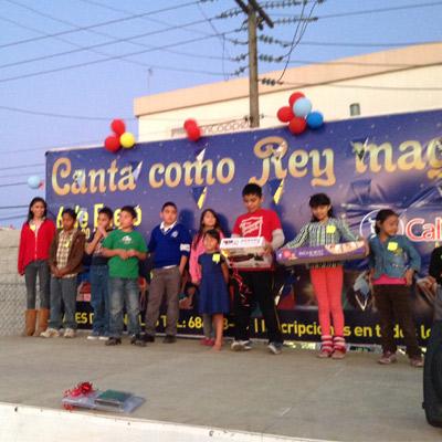 Dia de Reyes 2015 en Plaza Matamoros