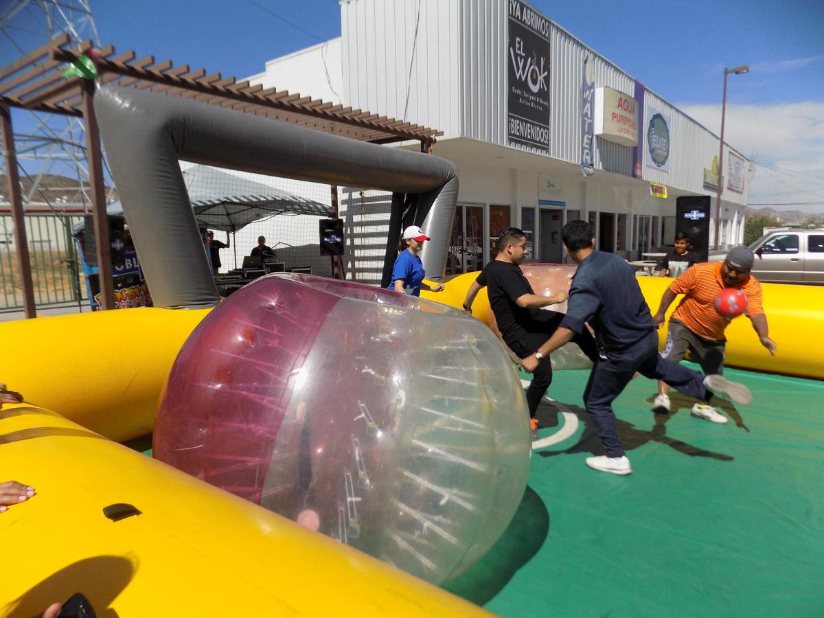 3er Torneo de Bubble Soccer