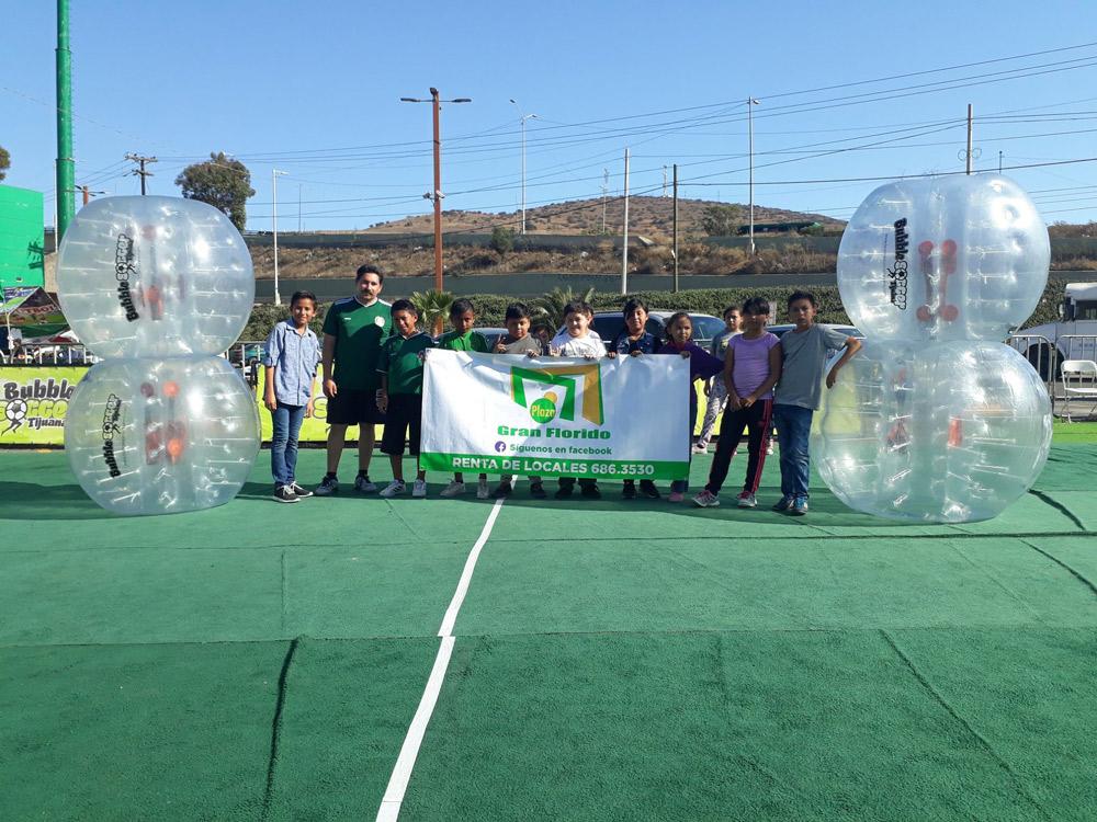 Torneo Bubble Soccer